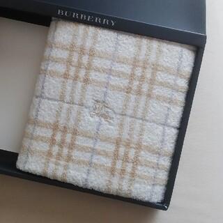 BURBERRY - 新品未使用 BURBERRYバスタオル