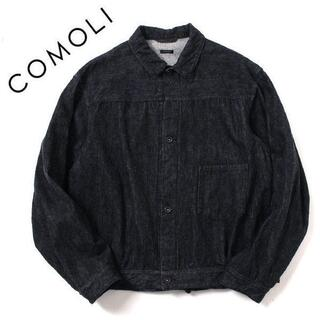 コモリ(COMOLI)の21AW size4 COMOLI デニムジャケット コモリ U03-01012(Gジャン/デニムジャケット)