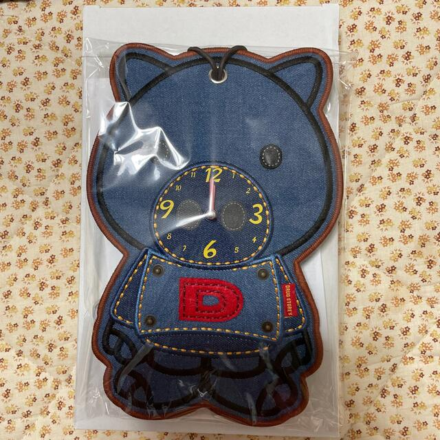 drug store's(ドラッグストアーズ)のドラッグストアーズデニム時計 インテリア/住まい/日用品のインテリア小物(置時計)の商品写真