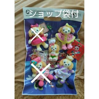 ダッフィー(ダッフィー)の香港上海ディズニー クッキーアン ぬいぐるみキーチェーン  ダッフィーフレンズ(キャラクターグッズ)
