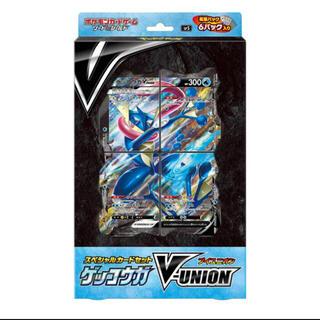 ポケモン(ポケモン)のポケモンカード ゲッコウガ V-UNION(Box/デッキ/パック)