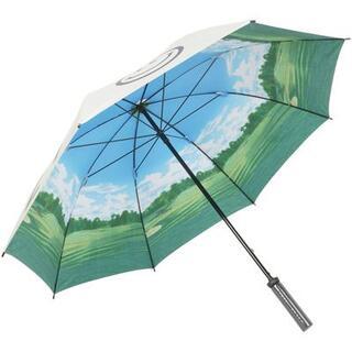 パーリーゲイツ(PEARLY GATES)の新制品★ PG パーリーゲイツ UV アンブレラ ゴルフ傘の紫外線対策(傘)