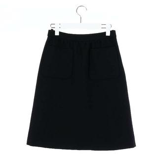 ミュウミュウ(miumiu)のミュウミュウ miumiu フレアスカート ひざ丈 38 M(ひざ丈スカート)
