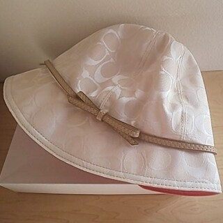 コーチ(COACH)の美品⭐️COACH帽子(ハット)