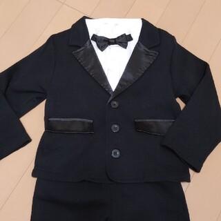 フェリシモ(FELISSIMO)の美品 お買い得 男児 フォーマルスーツ サイズ100(ドレス/フォーマル)