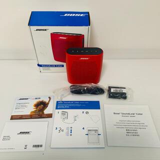 ボーズ(BOSE)のBose SoundLink Color Bluetooth speaker(ポータブルプレーヤー)