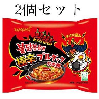 カルディ(KALDI)のプルダック炒め麺 極辛(インスタント食品)