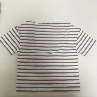 ナイスクラップ(NICE CLAUP)のNICE CLAUP♡ボートネックボーダーTシャツ(Tシャツ(半袖/袖なし))