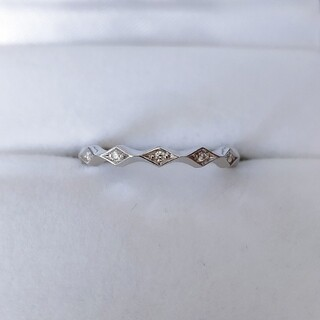 ENUOVE イノーヴェ ダイヤモンド ルミナ リング Pt950 3.9g(リング(指輪))