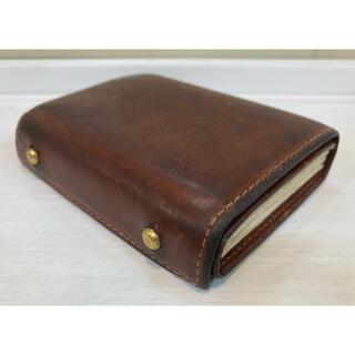 エムピウ(m+)の財布 エムピウ M+ ブラウン ミッレフォッリエ (折り財布)