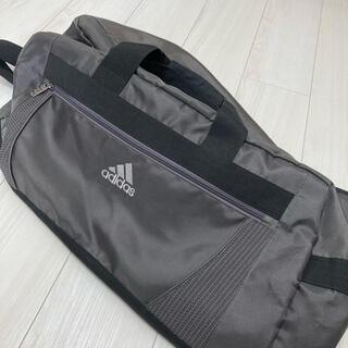 adidas - 【ゴム底付き】ace ボストンバッグ adidas シンプル グレー  大容量