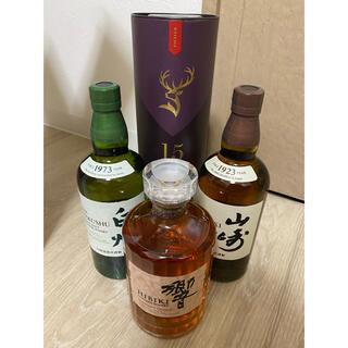サントリー(サントリー)の山崎 白州 響BH グレンフィディック15年 ウィスキーまとめ売り(ウイスキー)