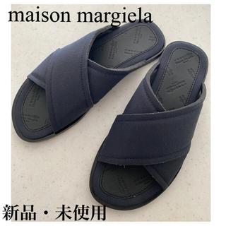 マルタンマルジェラ(Maison Martin Margiela)のMaisonMargiela メゾンマルジェラ クロスストラップサンダル新品42(サンダル)