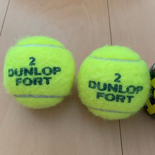 ダンロップ(DUNLOP)のダンロップフォート テニスボール 2番(ボール)