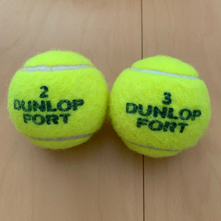 ダンロップ(DUNLOP)のダンロップフォート テニスボール 4個(ボール)