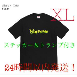シュプリーム(Supreme)のSupreme Shrek Tee ブラック XL(Tシャツ/カットソー(半袖/袖なし))