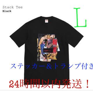 シュプリーム(Supreme)のSupreme stack tee シュプリーム スタック ティー(Tシャツ/カットソー(半袖/袖なし))