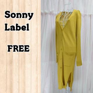 サニーレーベル(Sonny Label)のSonny Label ロングカーディガン スリット入(カーディガン)