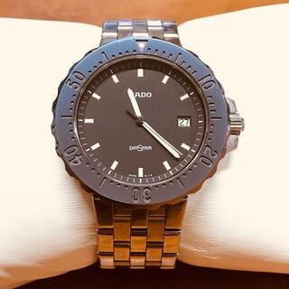 ラドー(RADO)のラドー ダイヤスター 259.0461.3 デイト ダイバー クオーツ(腕時計(アナログ))