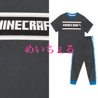 マイクロソフト(Microsoft)の【新品】グレー Minecraft パジャマ(パジャマ)