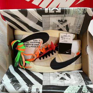 オフホワイト(OFF-WHITE)の【激レア】Nike×Off-White Blazer Mid 26.5cm(スニーカー)