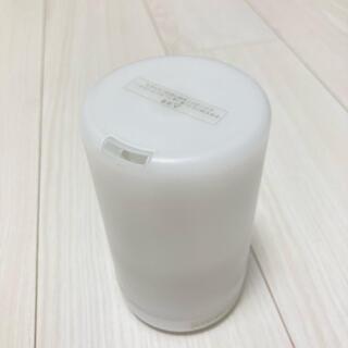 MUJI (無印良品) - 【無印】超音波アロマディフューザー リラックス 本体 電源コード ホワイト