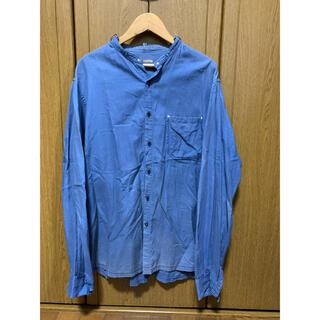 キャピタル(KAPITAL)のキャピタル kapital 長袖シャツ デニムシャツ バンドカラーシャツ(シャツ)