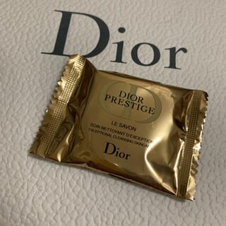ディオール(Dior)のDIOR プレステージ ル サヴォン 洗顔 石鹸 10g ディオール サンプル(洗顔料)