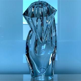 ✯極レア 宝石 リゴ Baccarat バカラ ダイヤモンド 置物 インテリア✯(彫刻/オブジェ)