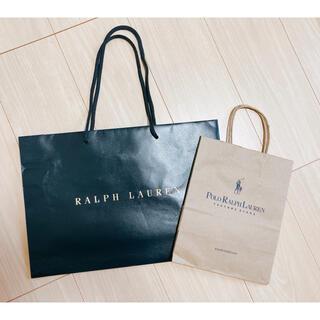ラルフローレン(Ralph Lauren)のRalph Lauren PoLo Ralph Lauren ショップ袋 紙袋(ショップ袋)