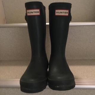 ハンター(HUNTER)のhunter ハンター キッズ kids グリーン ブーツ(長靴/レインシューズ)