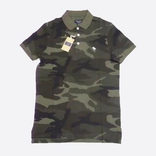 Abercrombie&Fitch - ★新品★アバクロンビー&フィッチ★カモフラ柄ポロシャツ (Olive/M)
