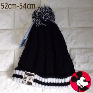 ミッキーマウス(ミッキーマウス)の☸️【52cm〜54cm】ミッキー ニットキャップ ニット帽(帽子)