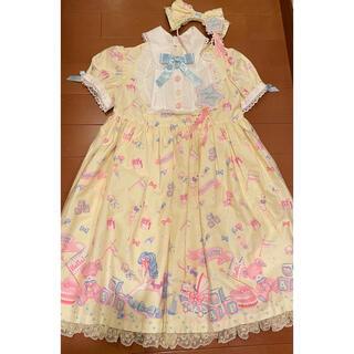 アンジェリックプリティー(Angelic Pretty)のDreamy baby room ワンピース(ひざ丈ワンピース)