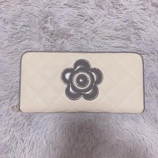 マリークワント(MARY QUANT)のマリークワントの長財布 ホワイト(財布)