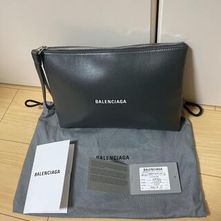 バレンシアガ(Balenciaga)のBALENCIAGA カーフスキン 3Dロゴ クラッチバック(セカンドバッグ/クラッチバッグ)