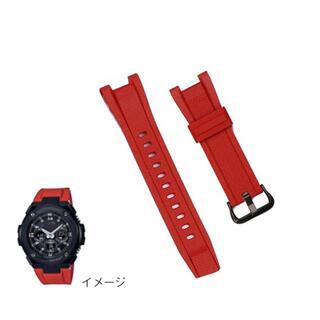 G-SHOCK - 新品 G-SHOCK G-STEEL 赤色 カスタム ベルト GST-W110