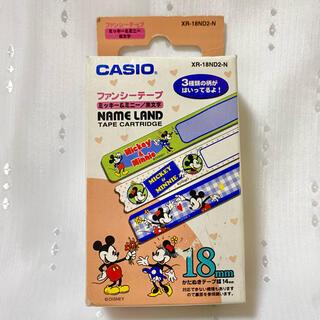 カシオ(CASIO)のディズニー casio ファンシーテープ(印刷物)