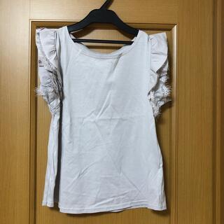 ヴィス(ViS)の新品 VIS 肩レースブラウス(Tシャツ(半袖/袖なし))