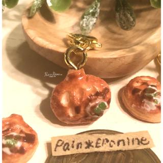 パンプキンパイチャーム:かぼちゃ(キーホルダー/ストラップ)