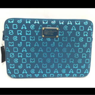 MARC BY MARC JACOBS - 新品未使用MARC BY MARC JACOBSタブレットケースブルー メタル