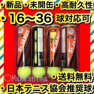 ダンロップ(DUNLOP)の新品 未開缶 STJAMES ダンロップ セントジェームス テニスボール 16球(ボール)