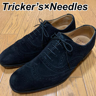 トリッカーズ(Trickers)のTricker's×Needles スエード ローファー(ドレス/ビジネス)