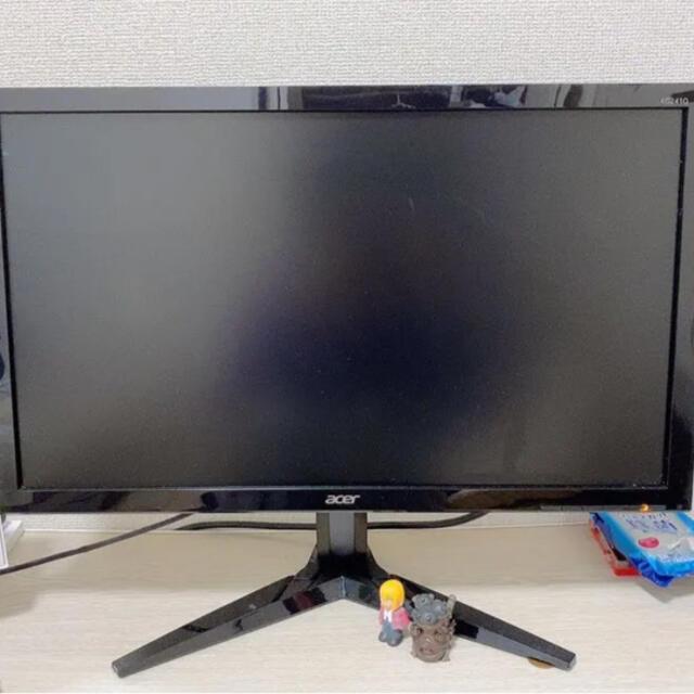 Acer(エイサー)のacer ゲーミングモニター 23.6 スマホ/家電/カメラのPC/タブレット(ディスプレイ)の商品写真