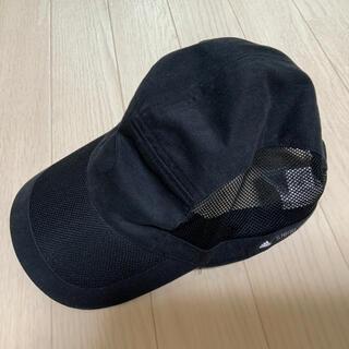 アディダスバイステラマッカートニー(adidas by Stella McCartney)のアディダス ステラマッカートニー レディースキャップ ランニング帽子 ブラック黒(キャップ)