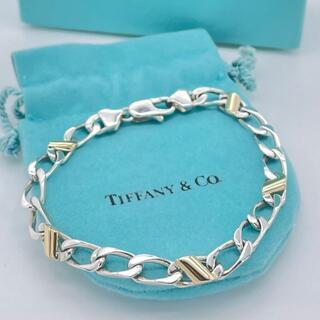 ティファニー(Tiffany & Co.)の希少 美品 ヴィンテージ ティファニー コンビ 喜平 ブレスレット BB59(ブレスレット)