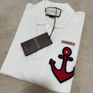 Gucci - 売り切り値下げ!GUCCI Anchor-embroidery ポロシャツ