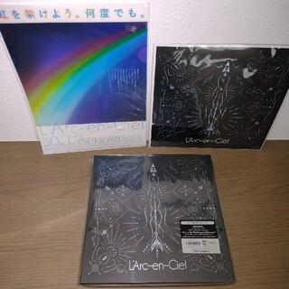 L'Arc~en~Cielミライ 完全生産限定盤 メガジャケ+クリアファイル付(ポップス/ロック(邦楽))
