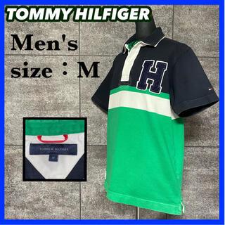 【9/20で出品終了】トミーヒルフィガー ラガーシャツ サイズM