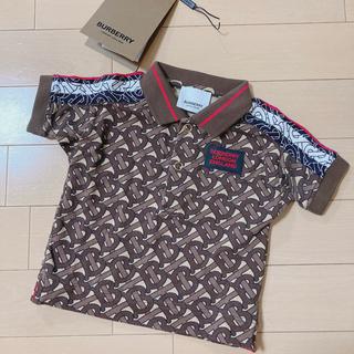 バーバリー(BURBERRY)のBurberry♡モノグラムストライププリント コットンピケ ポロシャツ(Tシャツ)